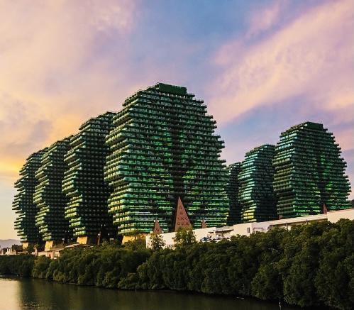Дома-деревья Китай - Fengshuimaster.Ru